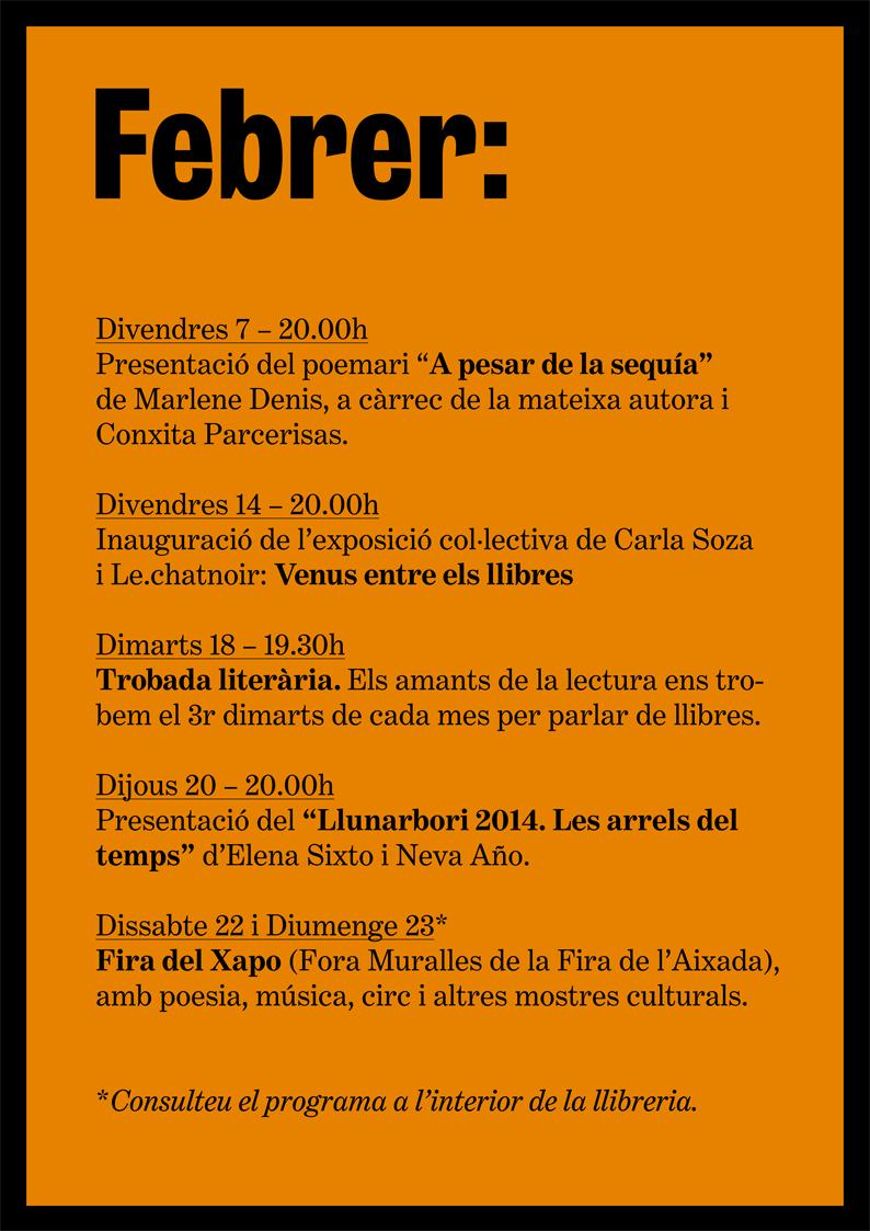 LlibreriaPapasseit_agenda_febrer