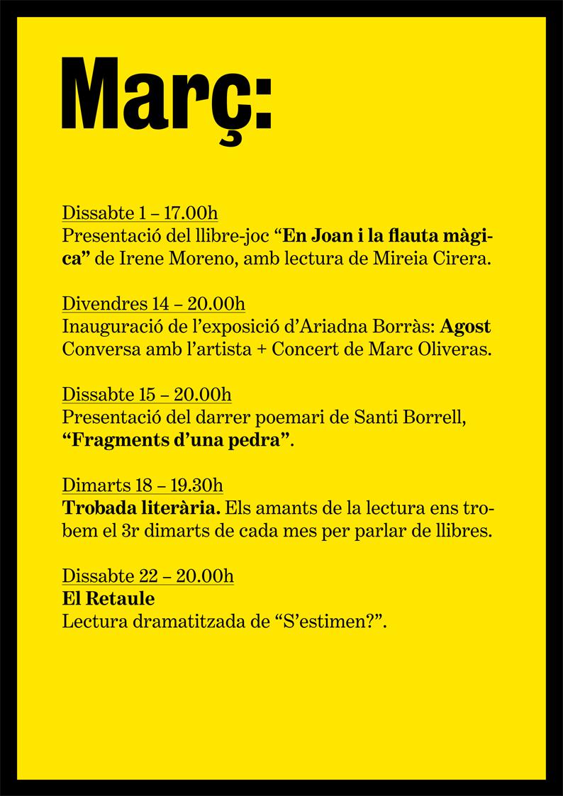 agenda-març